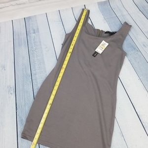 646a01b999 Planet Gold Dresses -  New  NWT Planet Gold Couture Gray Bodycon Dress M